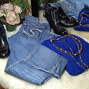 """Silver Suki Jeans 🤩 size 33/33"""" long"""